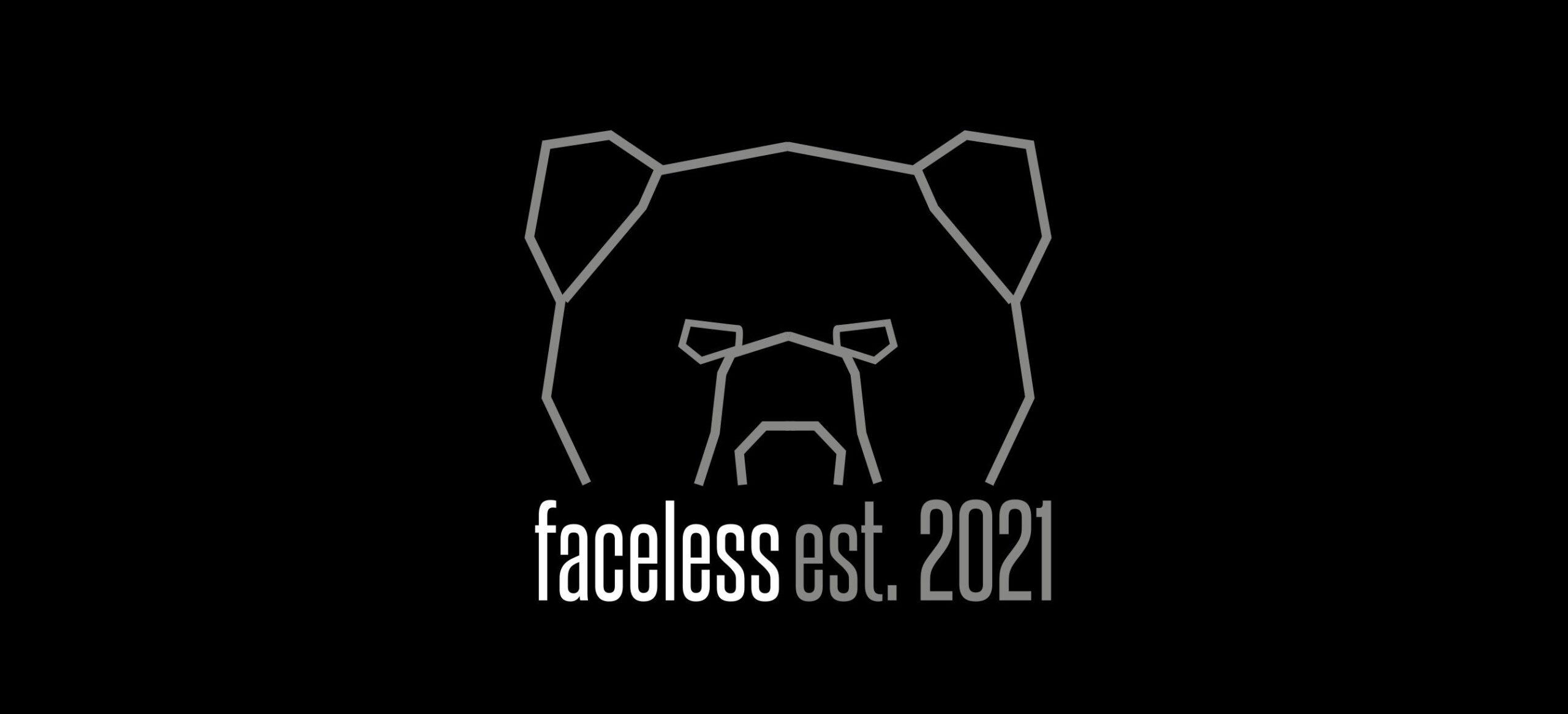 Faceless Streetwear Est. 2021 Logo